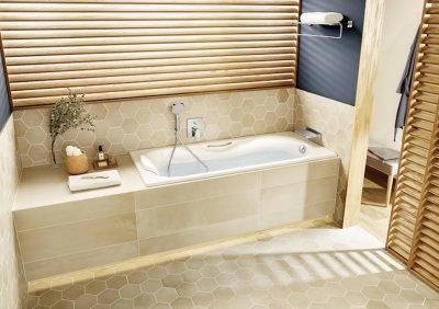 Roca_Malibu kád - fürdő / WC ötlet, modern stílusban