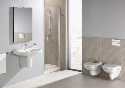 Roca_Debba szaniter - fürdő / WC ötlet, modern stílusban