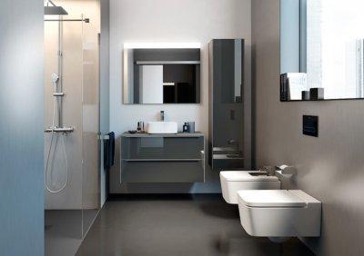 Roca_Round szaniter - fürdő / WC ötlet