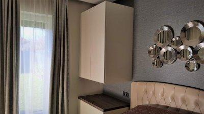 Modern elegáns hálószoba - háló ötlet, modern stílusban