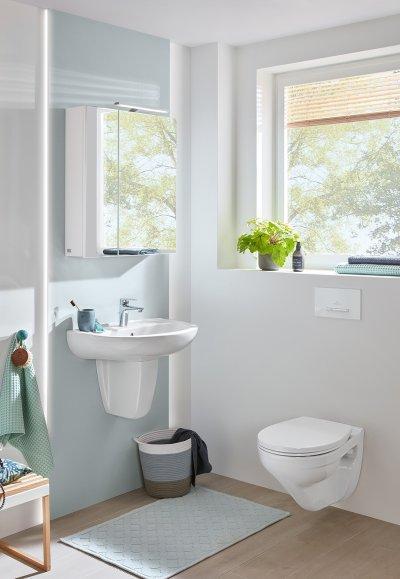 Mélyöbltésű fali wc csésze - fürdő / WC ötlet, modern stílusban