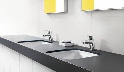 Egykaros mosdócsaptelep - fürdő / WC ötlet, modern stílusban