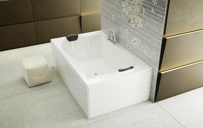 Tágas fürdőkád - fürdő / WC ötlet, modern stílusban