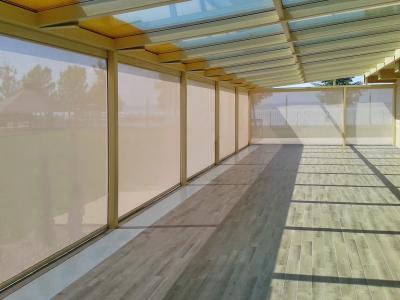 Napháló a teraszon - erkély / terasz ötlet, modern stílusban