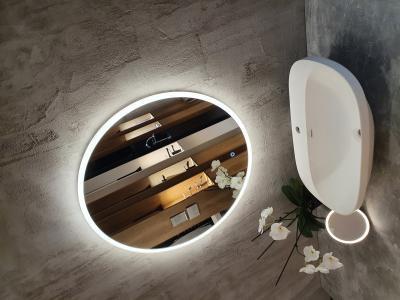 Fehér mosdótál - fürdő / WC ötlet, modern stílusban