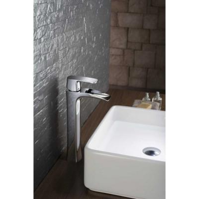 Magas csaptelep - fürdő / WC ötlet, modern stílusban