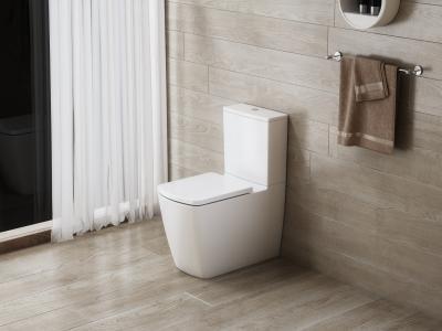 WC tartállyal együtt - fürdő / WC ötlet, modern stílusban
