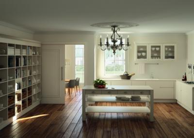 Fa beltéri ajtó - konyha / étkező ötlet