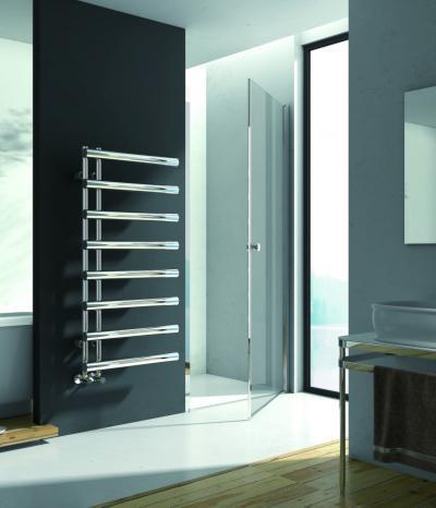 Látványos fürdőszoba radiátor - fürdő / WC ötlet, modern stílusban