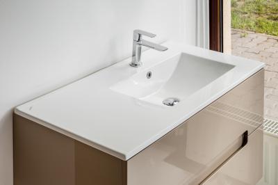 Pultba építhető mosdó - fürdő / WC ötlet, modern stílusban