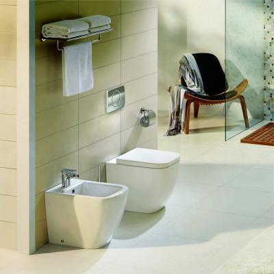 Wc és bidé - fürdő / WC ötlet, modern stílusban