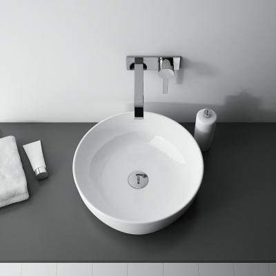 Kerek mosdó - fürdő / WC ötlet