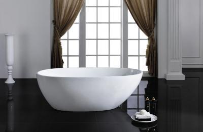 Szabadon álló kád - fürdő / WC ötlet, modern stílusban