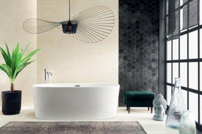Tubadzin Horizon - fürdő / WC ötlet, modern stílusban