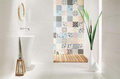 Tubadzin Unit Plus - fürdő / WC ötlet, modern stílusban