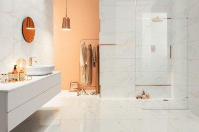 Tubadzin Serenity - fürdő / WC ötlet, modern stílusban