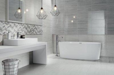 Tubadzin Malena - fürdő / WC ötlet, modern stílusban