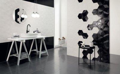 Tubadzin Colour - fürdő / WC ötlet, modern stílusban