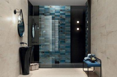 Tubadzin Curio - fürdő / WC ötlet, modern stílusban