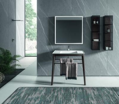 Monokróm fürdőszoba - fürdő / WC ötlet, modern stílusban