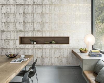 Látványos tapéta - nappali ötlet, modern stílusban