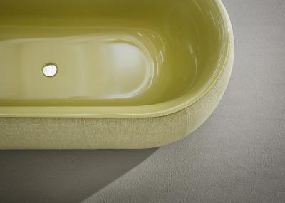 Acél fürdőkád - fürdő / WC ötlet, modern stílusban