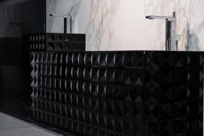 Design kád - fürdő / WC ötlet, modern stílusban
