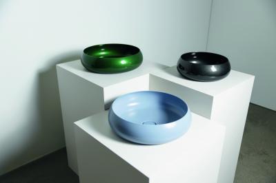 Színes mosdók - fürdő / WC ötlet, modern stílusban