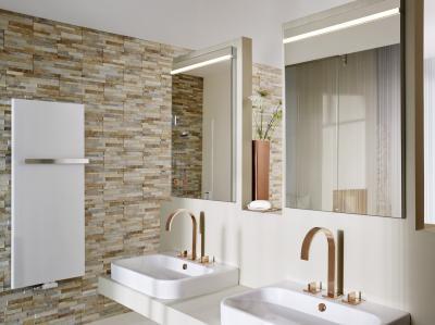 Különleges tükrös szekrények - fürdő / WC ötlet, modern stílusban