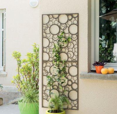 Decoration Panel - kert / udvar ötlet, modern stílusban