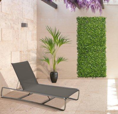 Vertical Jasmin zöldfal jázmin virággal - erkély / terasz ötlet, modern stílusban