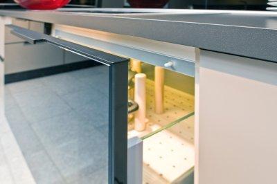 RAUVOLET vetro-line - konyha / étkező ötlet, modern stílusban
