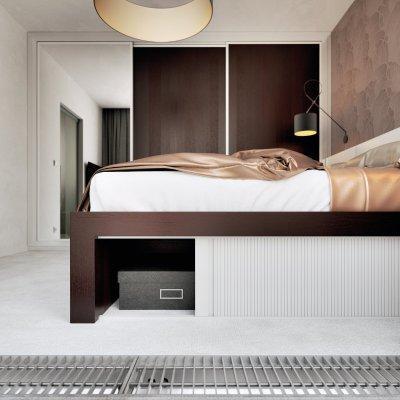 RAUVOLET bútorredőny - háló ötlet, modern stílusban