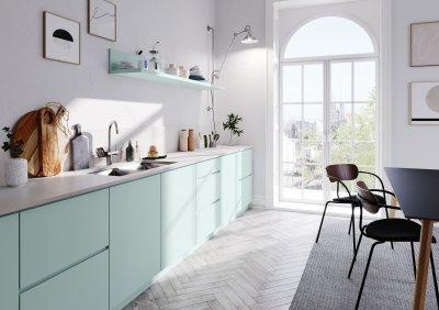RAUVISIO crystal - konyha / étkező ötlet, modern stílusban