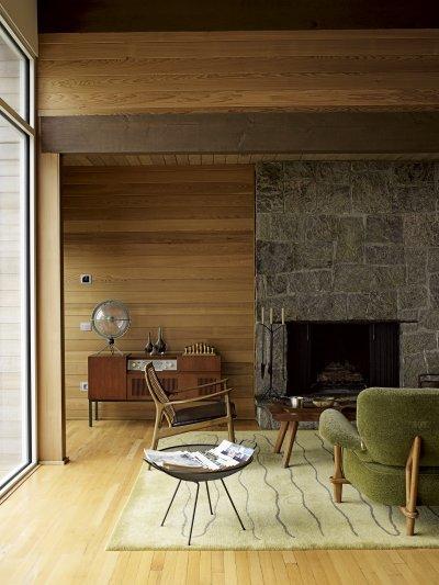 Esztétikus kapcsolók a falon - nappali ötlet, modern stílusban