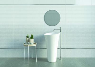 Matt felületű csempe - fürdő / WC ötlet, modern stílusban