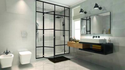 Hangsúlyos részletek - fürdő / WC ötlet, modern stílusban