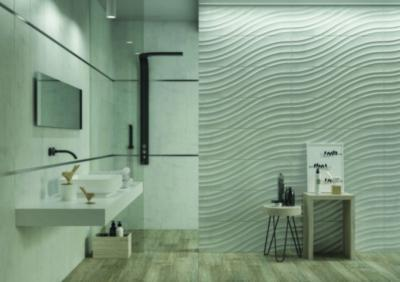 Csempevariációk a falon és a padlón - fürdő / WC ötlet, modern stílusban