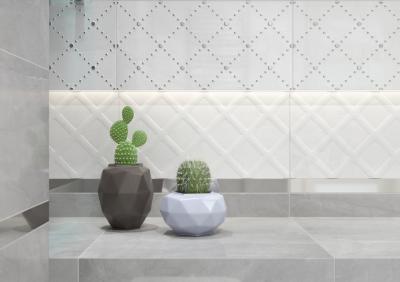 Csempeharmónia - fürdő / WC ötlet, modern stílusban