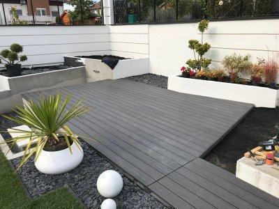 EWOPlank Ultrashield teraszburkolat - erkély / terasz ötlet, modern stílusban