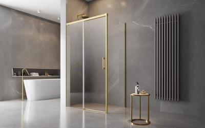 Üvegfalú zuhanyfülke - fürdő / WC ötlet, modern stílusban