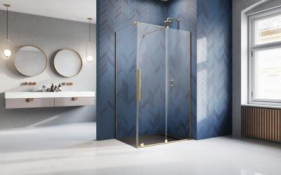 Üveg zuhanykabin - fürdő / WC ötlet, modern stílusban