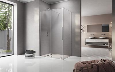 Üveg zuhanykabin - fürdő / WC ötlet