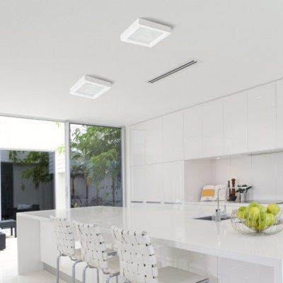 Energiatakarékos fényforrás - konyha / étkező ötlet, modern stílusban