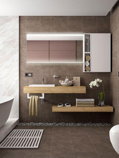 Mosdópult - fürdő / WC ötlet, modern stílusban