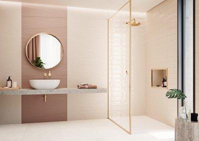 Összhang a fürdőszobában - fürdő / WC ötlet, modern stílusban
