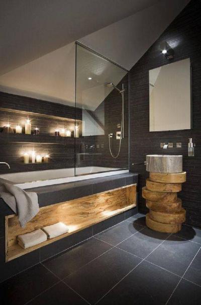 Fürdőszobaburkolat21 - belső továbbiak ötlet, modern stílusban