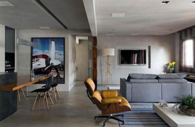 Loftok34 - nappali ötlet, modern stílusban