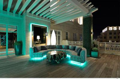 Kerti világítás23 - külső továbbiak ötlet, modern stílusban