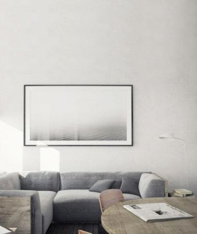 Rusztikus nappali - nappali ötlet, modern stílusban